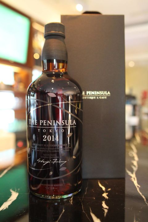 (現貨) Suntory THE PENINSULA blended whisky 三得利東京半島限定版 2014 (700ml 43%)
