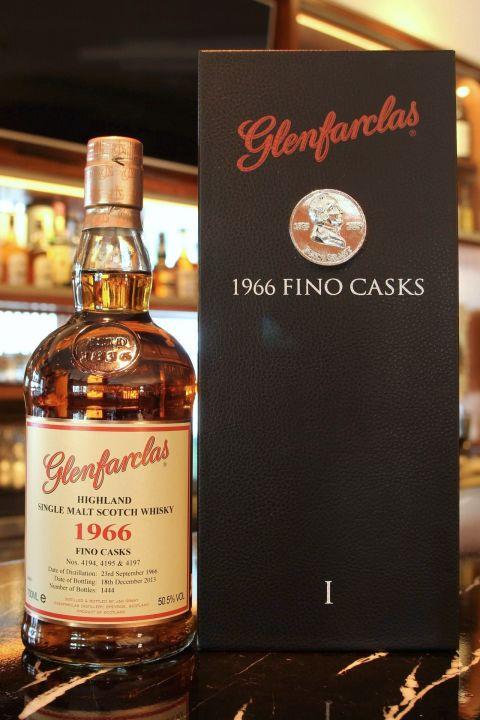 (現貨) Glenfarclas 1966 Fino Casks 格蘭花格 1966 Fino雪莉桶 六部曲之一 (700ml 50.5%)