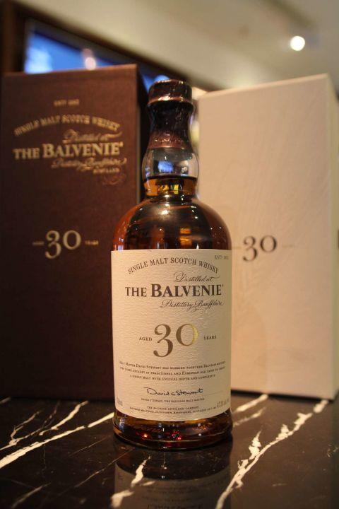 (現貨) The BALVENIE 30 years 百富30年 新版 (700ml 47.3%)