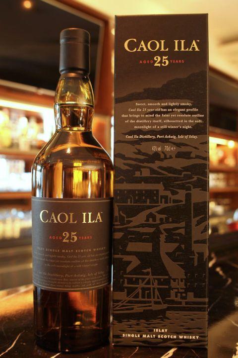 (現貨) Caol Ila 25 years 卡爾里拉 25年 (700ml 43%)