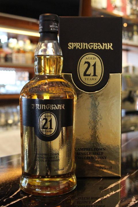 (現貨) Springbank 21 years 雲頂 21年 (700ml 46%)