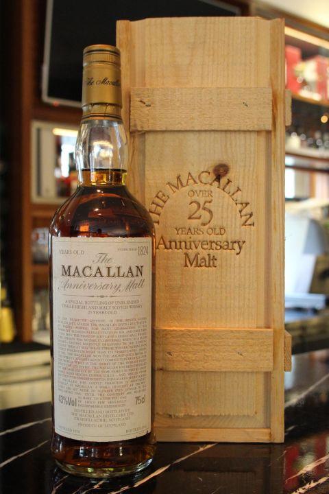 (現貨)Macallan 25 years 麥卡倫 25年 雪莉桶 舊版 公賣局 (750ml 43%)