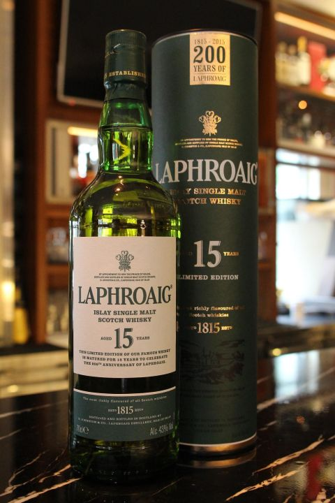 LAPHROAIG 15 years limited edition 拉佛格 15年 200周年限定版 (700ml 43%)