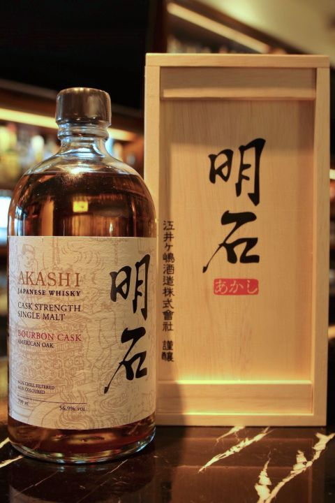 AKASHI Bourbon cask 明石 杜氏威士忌原酒 (700ml 56.9%)