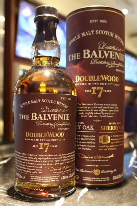 (現貨)The BALVENIE 17 years double wood 百富 17年 雙桶 (700ml 43%)