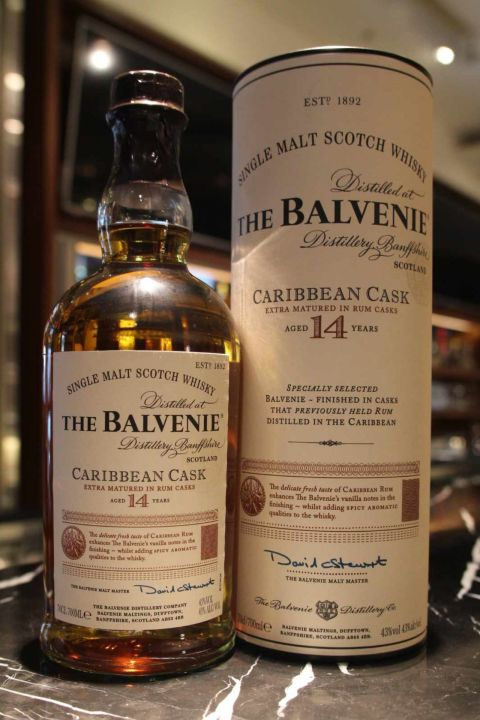 The BALVENIE 14 years Caribbean Cask 百富 14年 加勒比海蘭姆桶 (700ml 43%)