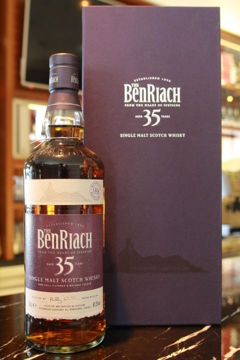 (現貨) BenRiach 35 years 班瑞克 35年 (700ml 42.5%)