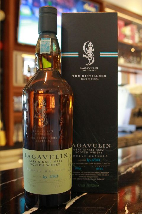 (現貨) LAGAVULIN Double Matured 1998 拉加維林 雙桶 1998 酒廠限定版 (700ml 43%)