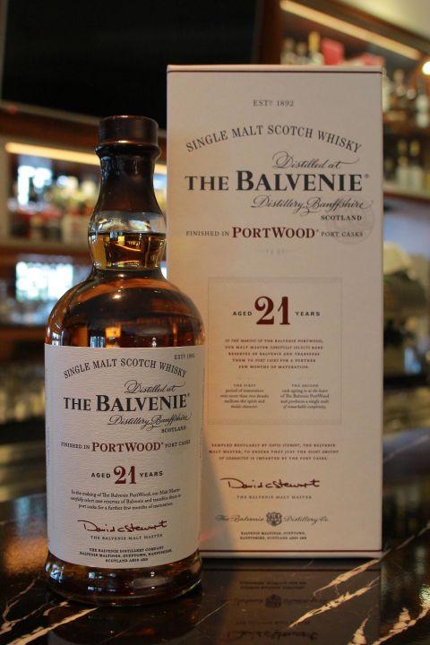 (現貨) The BALVENIE 21 years port wood 百富 21年 新版 波特桶 (700ml 43%)