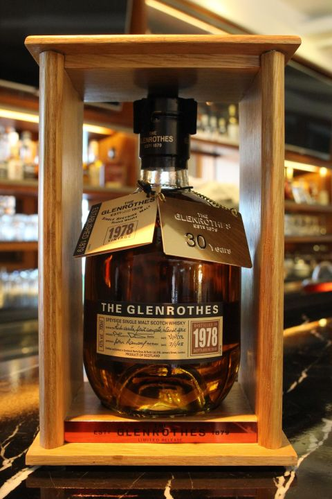 (現貨) GLENROTHES 1978 30 years 格蘭路思 1978 30年 (700ml 43%)