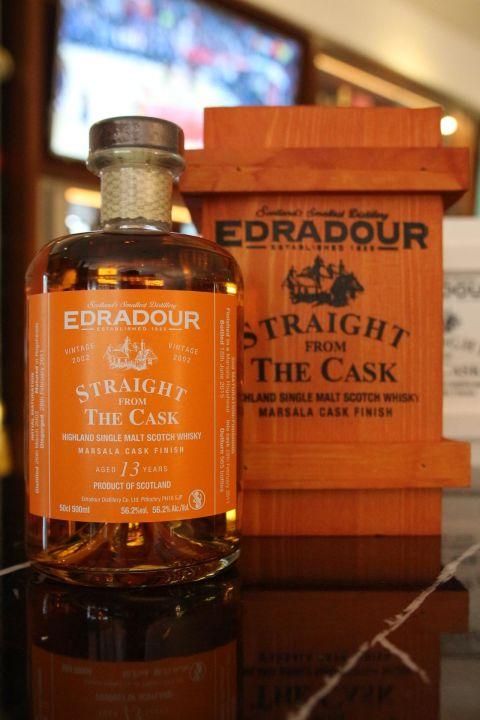 (現貨) EDRADOUR 13 years Marsala Finish 艾德多爾 13年 瑪薩拉酒桶 (500ml 56.2%)
