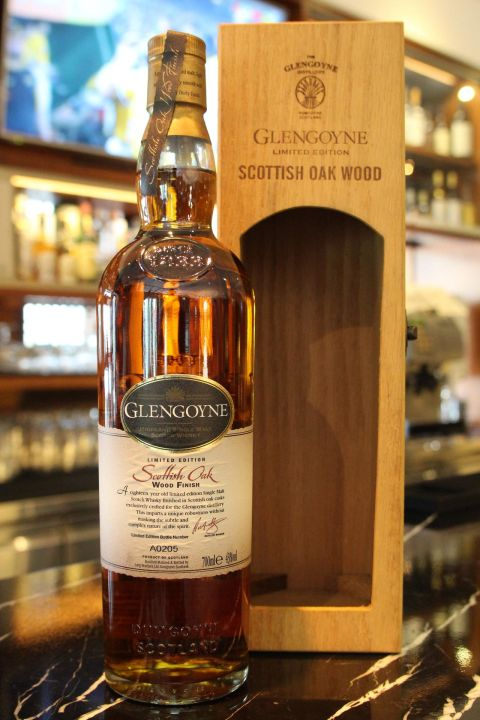 Glengoyne Scottish Oak Wood 格蘭哥尼 18年 橡木風味桶 (700ml 43%)