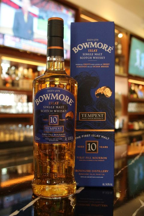 Bowmore 10 years Tempest 波摩 10年 風暴 稀有原酒 (700ml 54.9%)