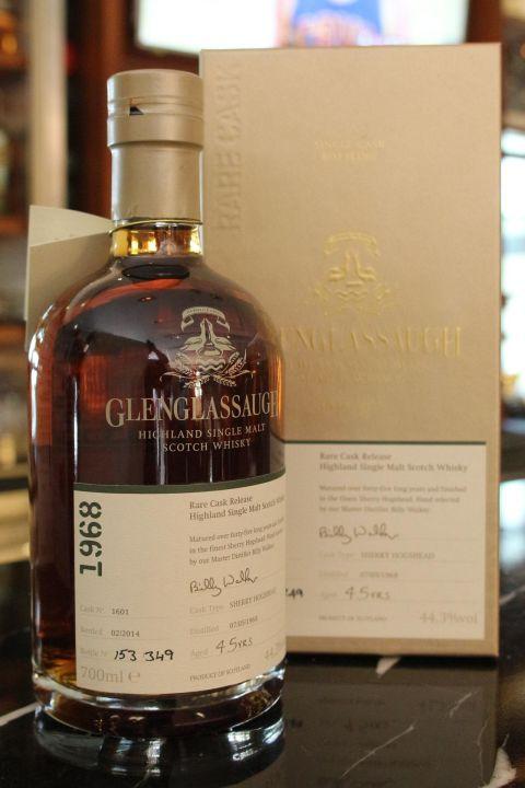 (現貨) Glenglassaugh 1968 45 years 格蘭格拉索 1968 45年 單桶 (700ml 44.3%)