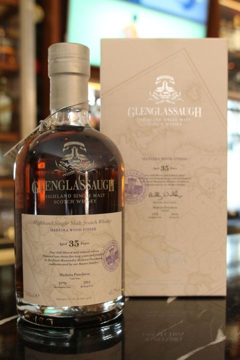 Glenglassaugh 1978 35 years 格蘭格拉索 1978 35年 單桶 (700ml 41.7%)
