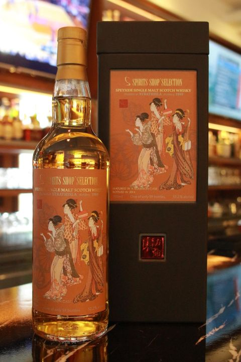 (現貨) Spirits Shops' Selection STRATHISLA Distillery 1989 東方命 第三版 史翠艾拉 1989 (700ml 52.2%)