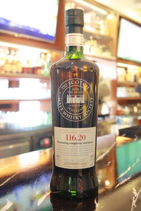 (現貨) SMWS 116.20 Yoichi 26 years 余市 單桶原酒 26年 蘇格蘭威士忌協會 (700ml 61.6%)