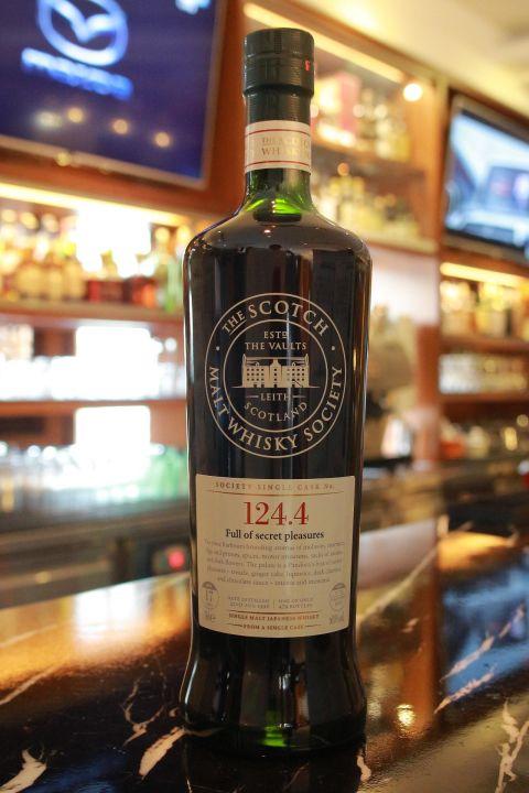 (現貨) SMWS 124.4 Miyagikyo 17 years 宮城峽 單桶原酒 17年 蘇格蘭威士忌協會 (700ml 60%)