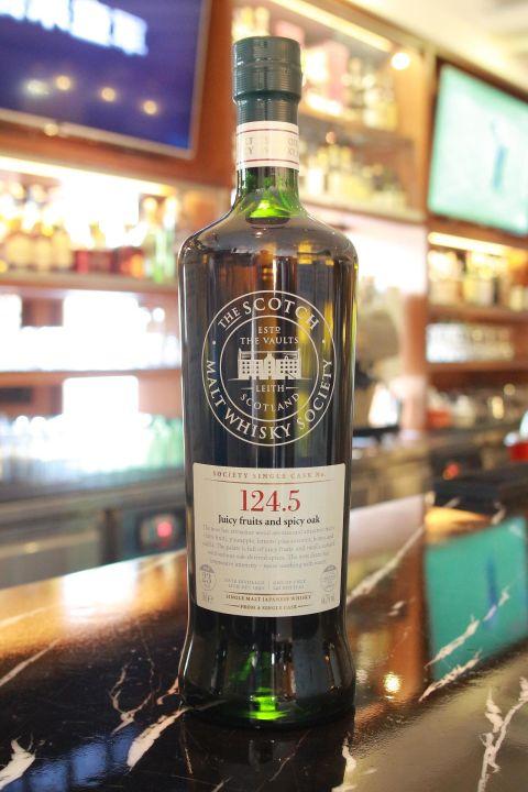SMWS 124.5 Miyagikyo 23 years 宮城峽 單桶原酒 23年 蘇格蘭威士忌協會 (700ml 66.7%)