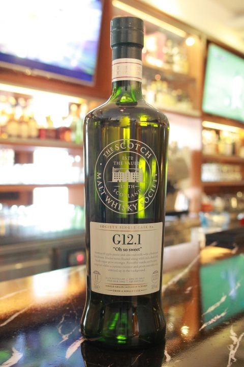SMWS G12.1 Nikka Coffey Malt Resp. 11 years 單桶原酒 11年 蘇格蘭威士忌協會 (700ml 58.9%)