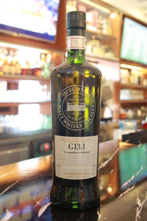 (現貨) SMWS G13.1 Chita 4 years 知多 單桶原酒 4年 蘇格蘭威士忌協會 (700ml 58.3%)