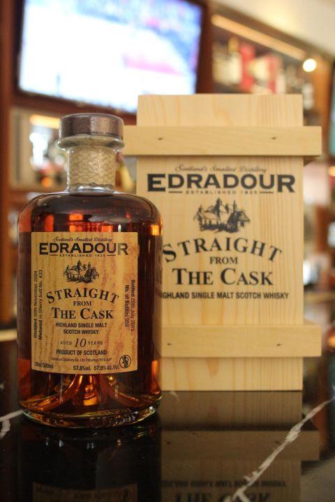 EDRADOUR 10 years Sherry Butt 艾德多爾 10年 雪莉原酒 (500ml 57.8%)