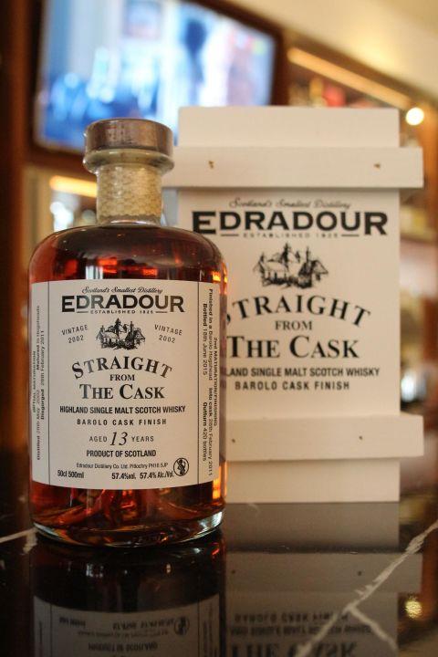 EDRADOUR 13 years Barolo Cask Finish 艾德多爾 13年 紅酒桶 原酒 (500ml 57.4%)