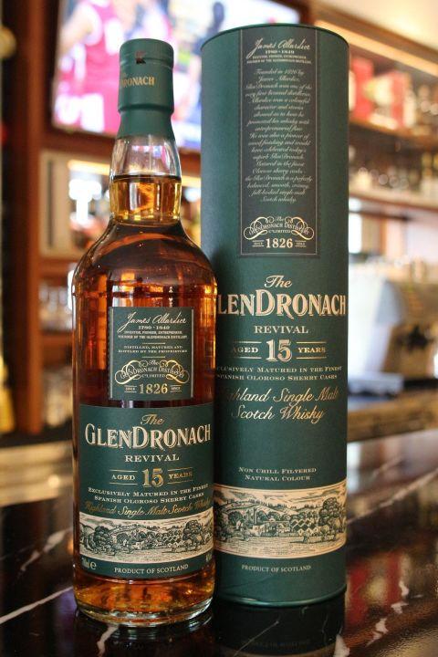 GLENDRONACH 15 years Revival 格蘭多納 15年 絕版 (700ml 46%)