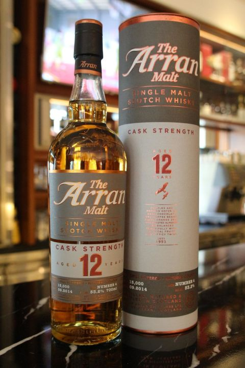 ARRAN 12 years Cask Strength Batch No.4 愛倫 12年 原酒 四版 (700ml 53.2%)