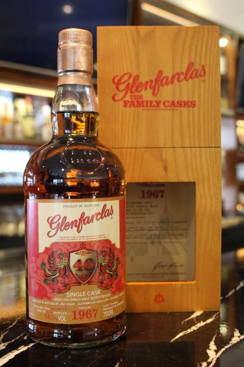 (現貨) Glenfarclas 1967 Single Cask 46 years 格蘭花格 1967 鳳凰 單桶 46年 (700ml 54%)