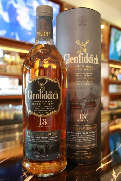 (現貨) Glenfiddich 15 years Distillery Edition 格蘭菲迪 15年 酒廠限定版 (1000ml 51%)