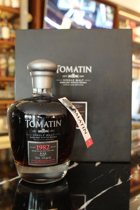 (現貨) Tomatin 1982 single cask 湯瑪丁1982 單桶原酒 (750ml 57%)