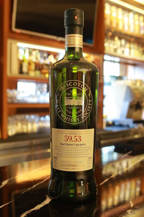 (現貨) SMWS 59.53 Teaninich 31 years 提安尼涅克 單桶原酒 31年 蘇格蘭威士忌協會 (700ml 51.6%)