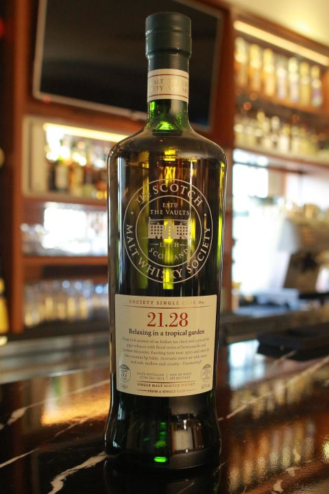 (現貨) SMWS 21.28 GLENGLASSAUGH 37 years 格蘭格拉索  單桶原酒 37年 蘇格蘭威士忌協會 (700ml 48.1%)