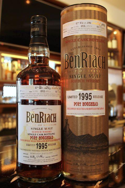 (現貨) BenRiach 19 years Port Hogshead 班瑞克 19年 波特桶 單桶 (700ml 54.6%)