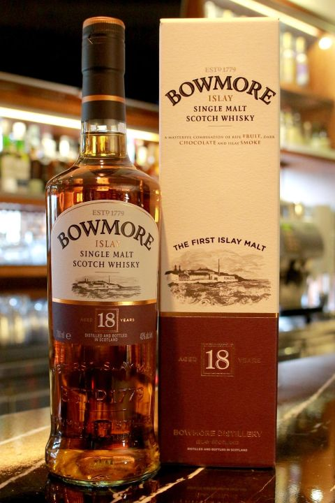 Bowmore 18 years 波摩 18年 (700ml 43%)