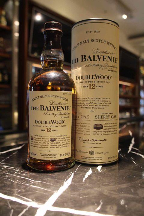 The BALVENIE 12 years Double Wood 百富 12年 雙桶 (700ml 40%)