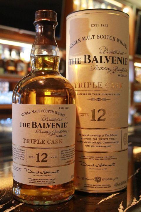The BALVENIE 12 years Triple Cask 百富 12年 三桶 (1000ml 40%)