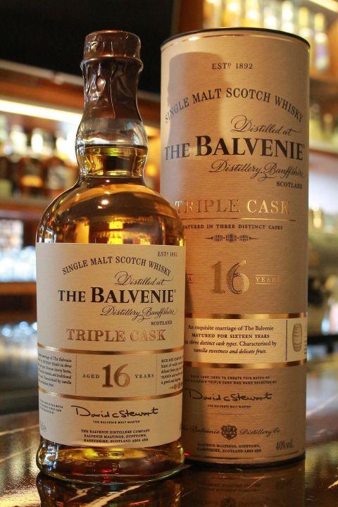 (現貨) The BALVENIE 16 years Triple Cask 百富 16年 三桶 (700ml 40%)