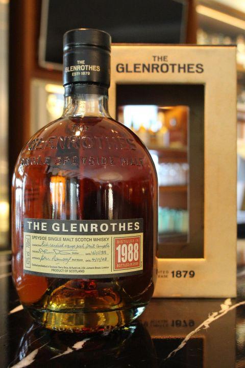 GLENROTHES Vintage 1988 格蘭路思 1988 (700ml 43%)