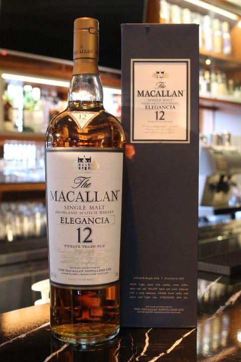 Macallan 12 years Elegancia 麥卡倫 12年 Elegancia 絕版雪莉桶 (1000ml 40%)