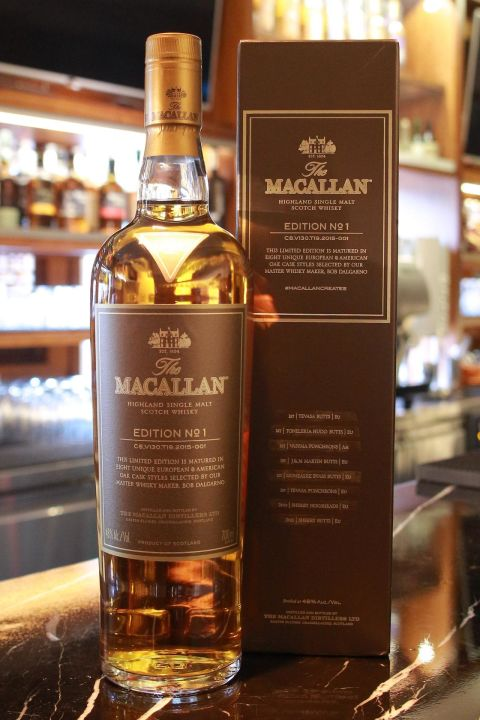 (現貨)Macallan Edition No.1 麥卡倫 2015年度限量 Editon No.1 (700ml 48%)