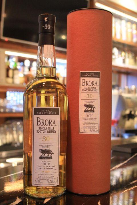 (現貨) BRORA 30 years 2010 布朗拉 30年 2010 消失的酒廠 (700ml 54.3%)