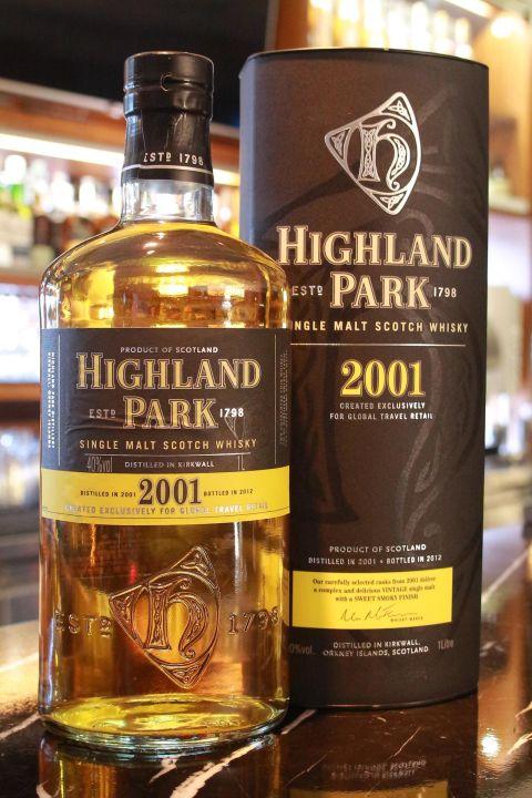 Highland Park 2001 高原騎士 2001 (1000ml 40%)