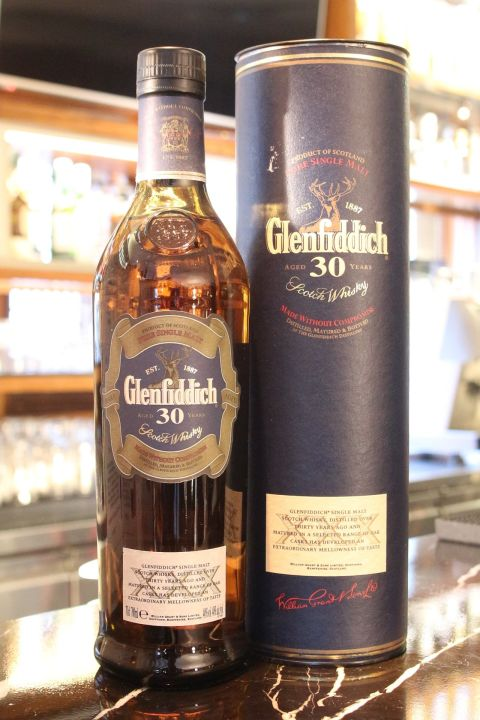 Glenfiddich 30 years Old Version 格蘭菲迪 30年 舊版 (700ml 40%)