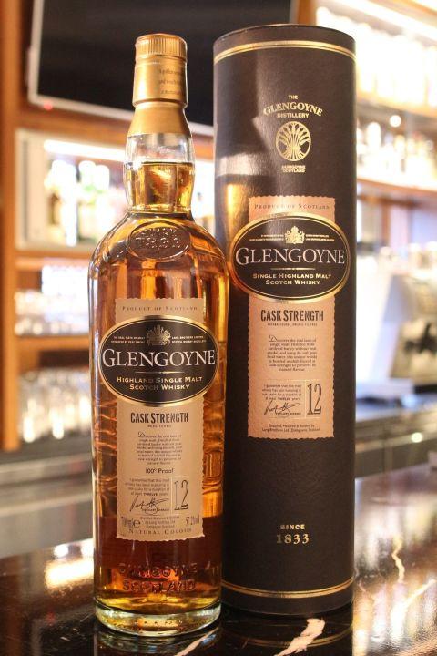 Glengoyne 12 years Cask Strentgh 格蘭哥尼 12年 原酒強度 (700ml 57.2%)