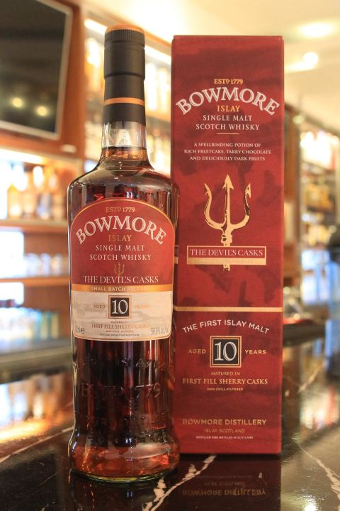 Bowmore 10 years The Devil's Casks Batch No.1 波摩 惡魔 第一版 10年 原酒 (700ml 56.9%)