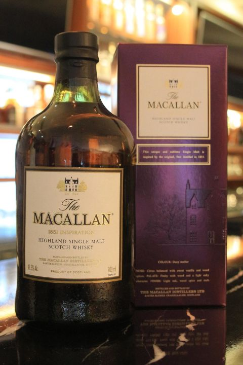 (現貨)Macallan 1851 Inspiration 麥卡倫 1851 風華系列 (700ml 41.3%)