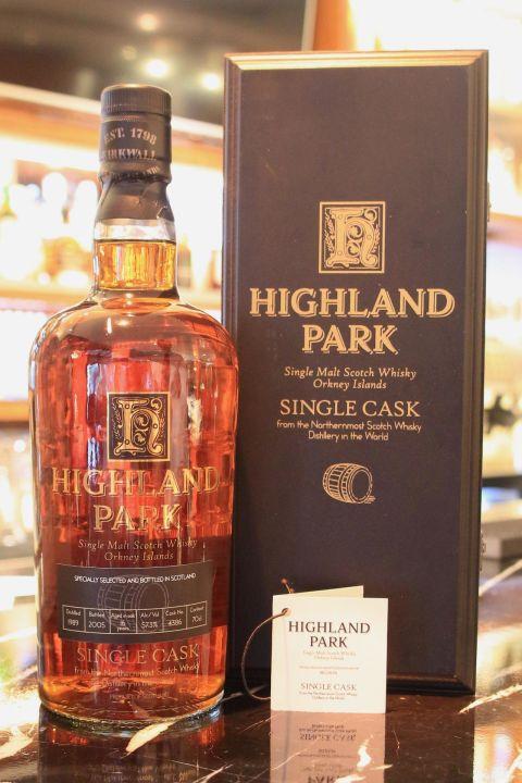 Highland Park 16 years Single Cask 高原騎士 16年 單桶 (700ml 57.3%)