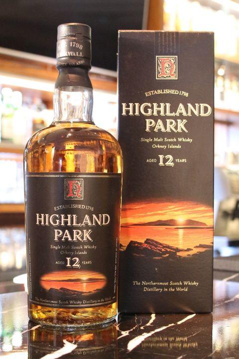 Highland Park 12 years 高原騎士 12年 舊版 (750ml 43%)